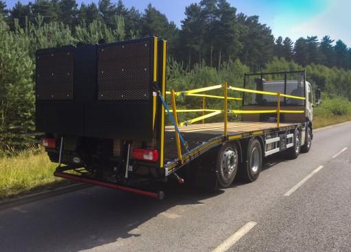 32 tonne beavertail for Leeds Commercial