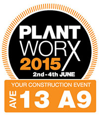 Shawtrack Stand  at Plantworx 2015