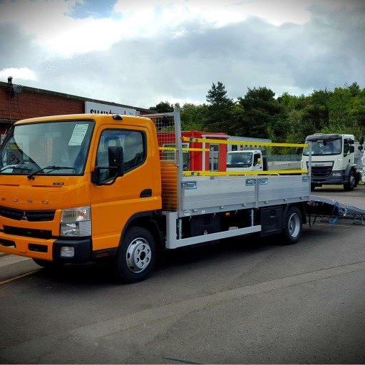 Axle Haulage 7.5t beavertail by Shawtrack