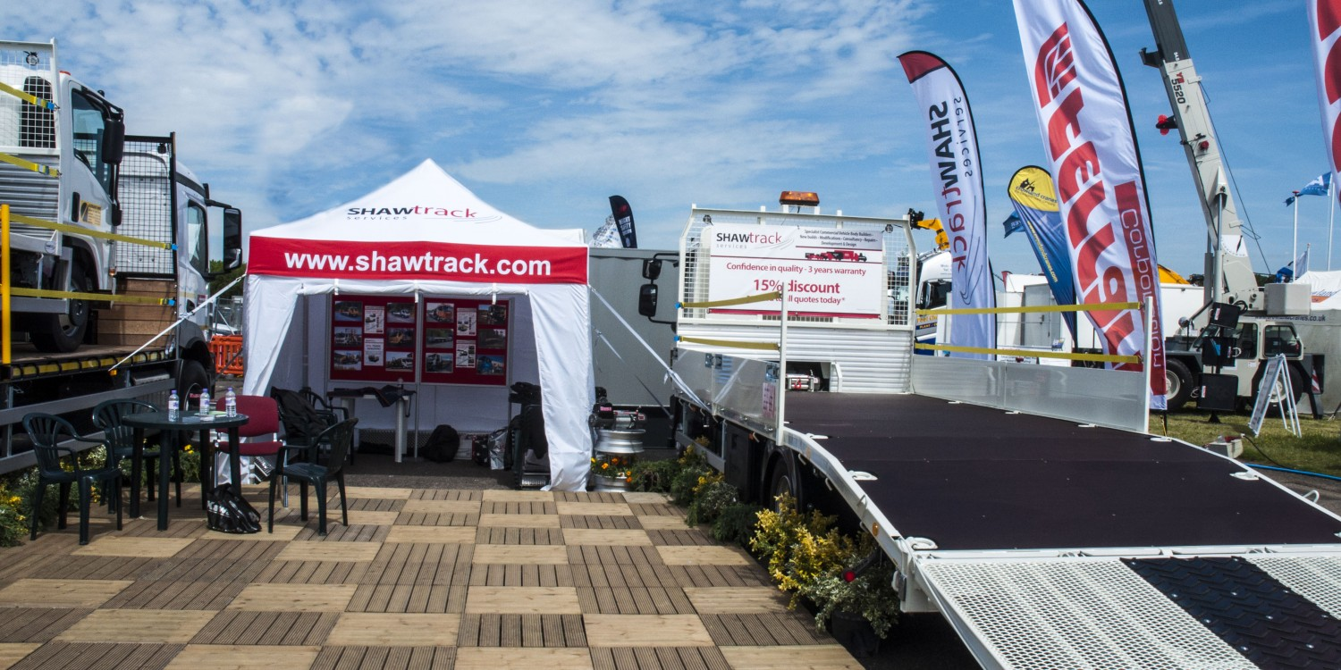 Shawtrack at Plantworx 2015