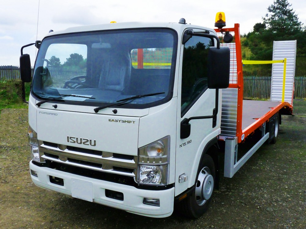 Stock truck 7.5t with 3800kg payload