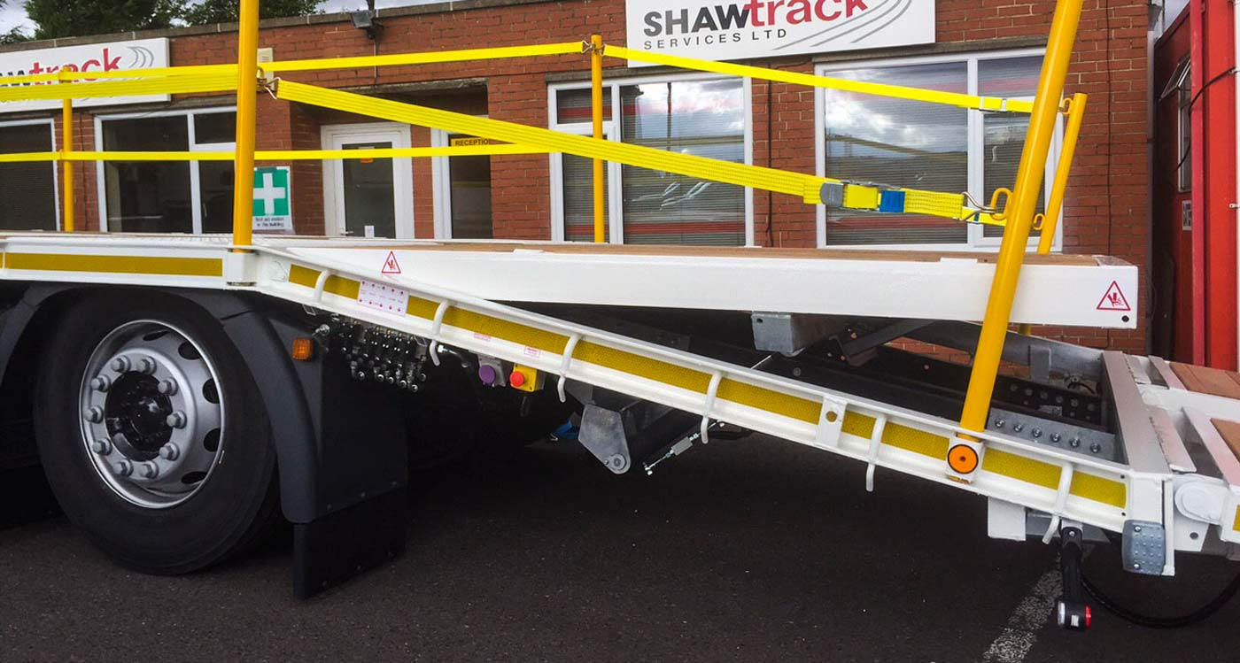 J Matthews 26 tonne beavertail body by Shawtrack