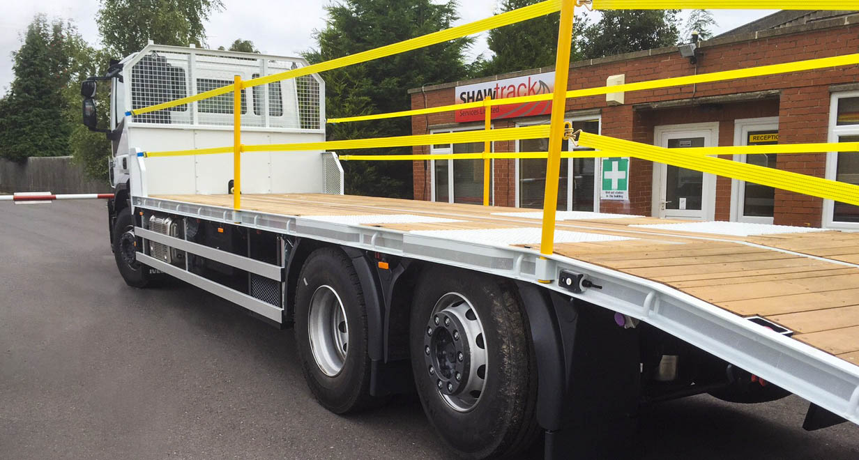 26 tonne IVECO beavertail body