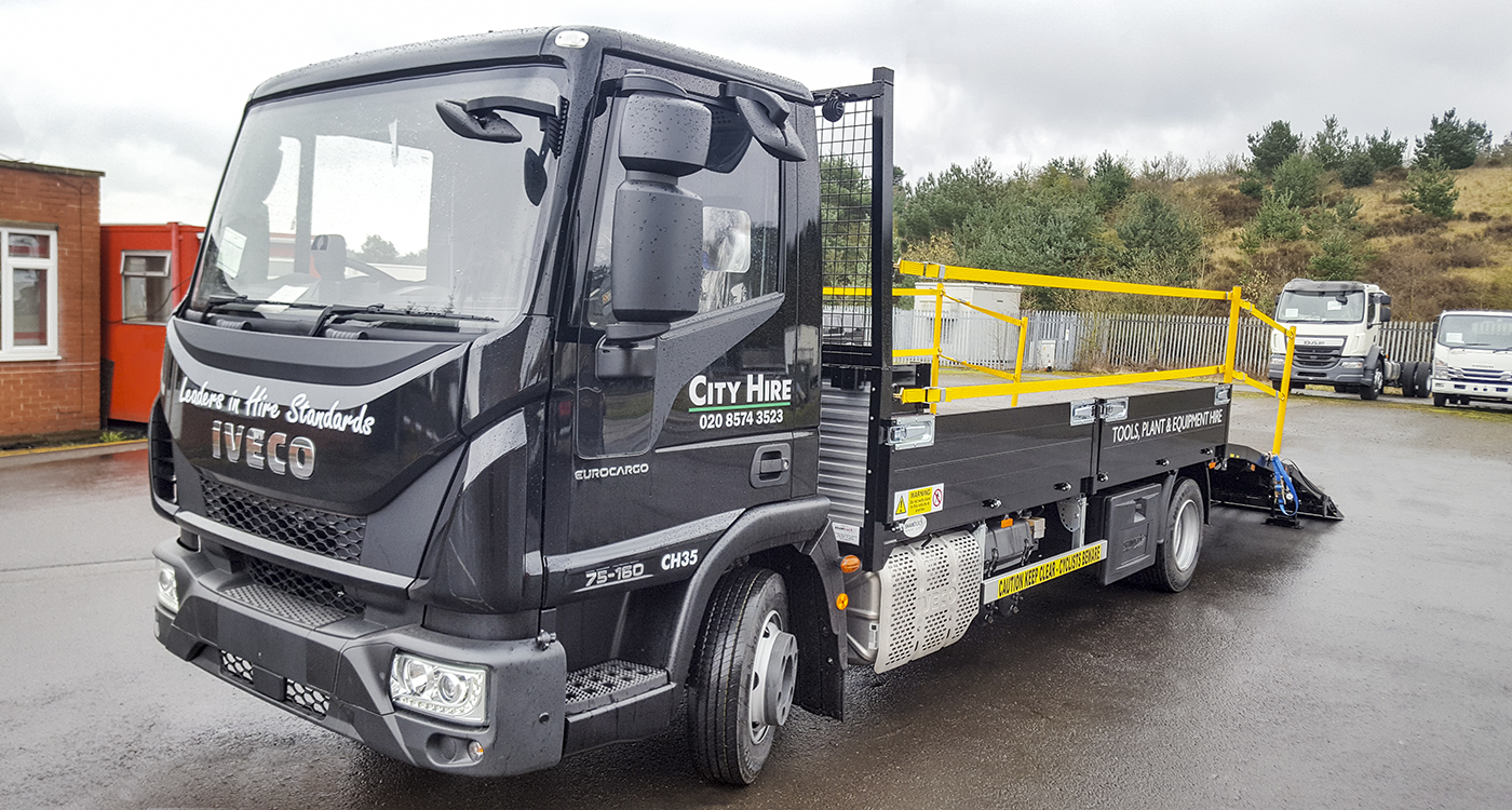 Citi 12 tonne beavertail Shawtrack body builders