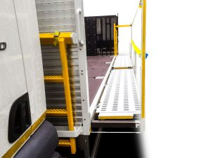 Pull out walkway