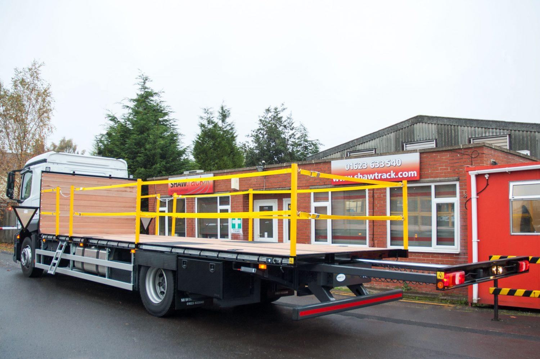 18 tonne extending beavertail