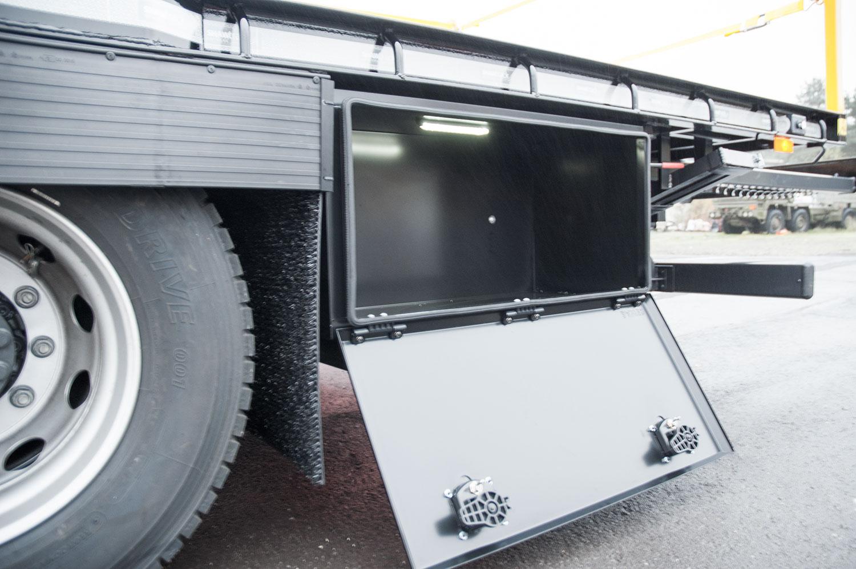 18 tonne extending beavertail toolbox